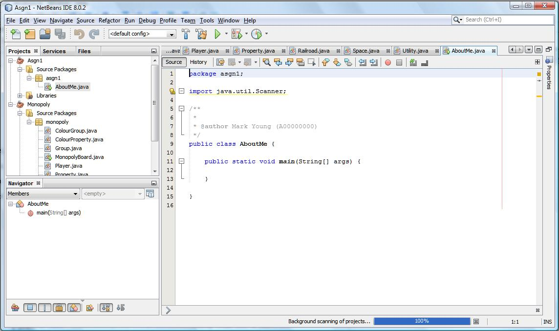How to Use NetBeans 8 in CSCI 1226 Labs